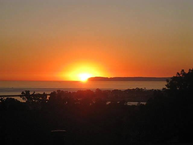 Sunset from upstairs. You are going to love it here. - Aug Special! $259/Night 3 Story Ocean View Home! - Dana Point - rentals