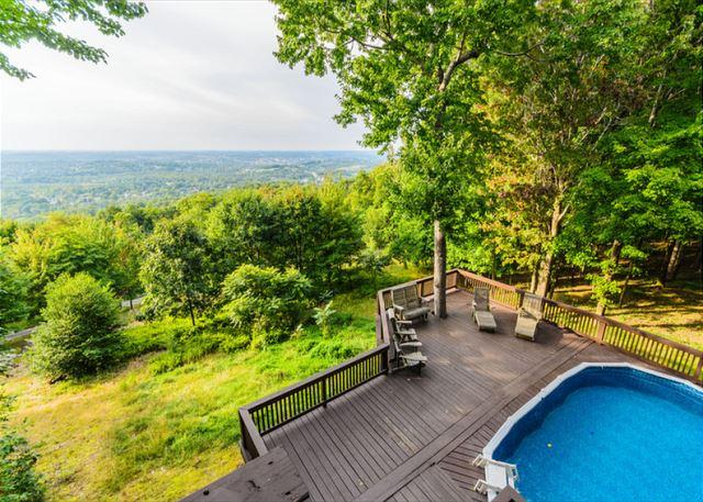 Laurel View Retreat -The most spectacular view awaits you! BEST SELLER!! - Image 1 - Hopwood - rentals