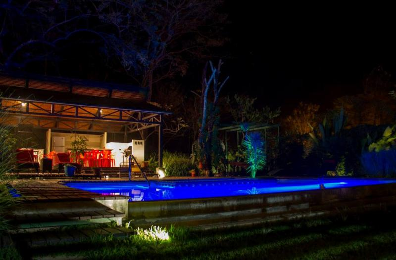 Ranch and Pool by night - ZumaLoft - Montezuma - rentals