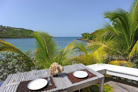 Romantic Buddha Bay villa directly on Marigot beach with spa & daily maid - Image 1 - Marigot - rentals