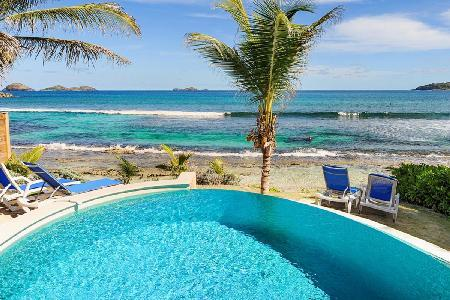 Picturesque Villa Key Lime with a beach perfect for swimming and surfing - Image 1 - Anse Des Cayes - rentals