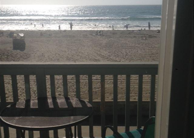 Balcony View - Great oceanview 2 bdrm, best deal on the Missin Beach boardwalk! - Pacific Beach - rentals
