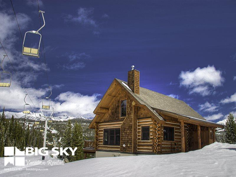 Powder Ridge Red Cloud 9D (Cabin 9D) - Image 1 - Big Sky - rentals