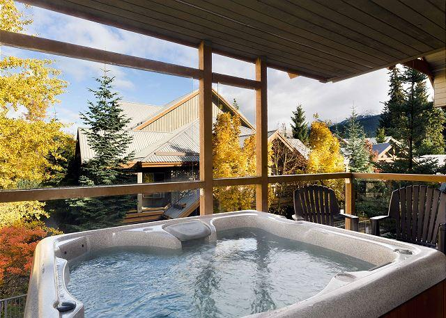 28 Glaciers Reach, this 2br home has a hot tub & pool in Whistler Village - Image 1 - Whistler - rentals