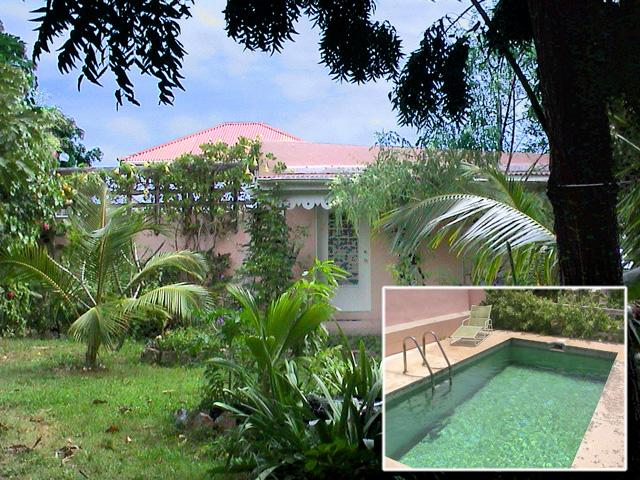 Longford Hideaway - 1BR Cottage with Pool! - Longford Hideaway Cottage: 1BR, pool, organic farm - Christiansted - rentals