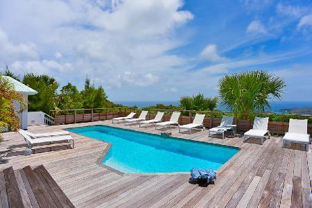 Incomparable Vina Villa, with fitness room, heated pool and housekeeping - Image 1 - Vitet - rentals