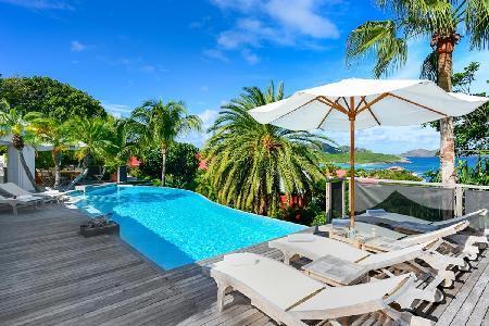 Spacious La Desirade offers ocean views, intimate pool terrace & walk to beach - Image 1 - Saint Jean - rentals