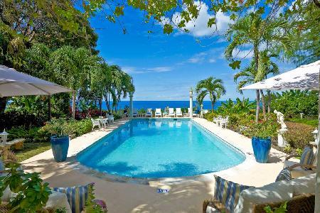 Exquisite Shangri La with panoramic ocean views, lush manicured grounds with pool - Image 1 - Saint James - rentals