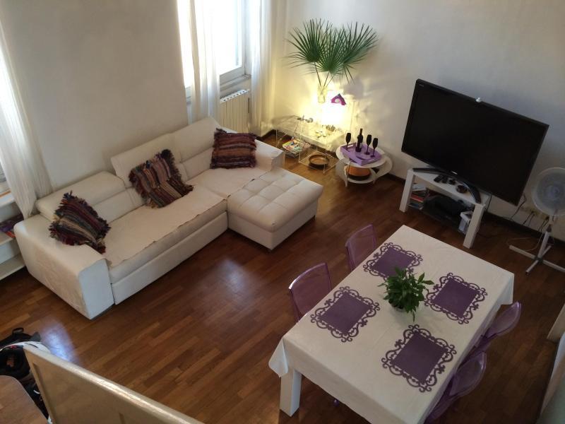 lounge - ROME, CAMPODEIFIORI AREA, SANT'ANDREA APARTMENT - Rome - rentals