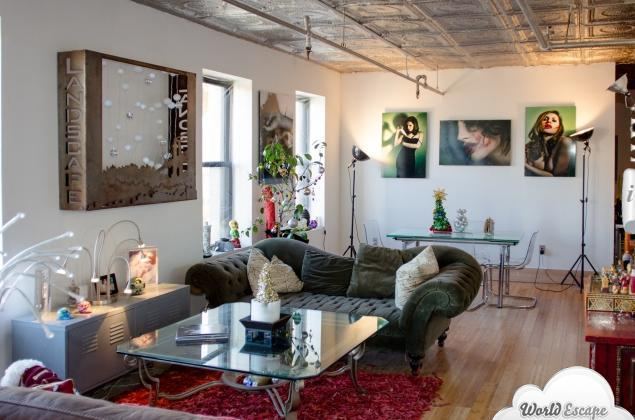 3bdrm- 4 beds in Artist Loft!! ---key id 666 - Image 1 - New York City - rentals