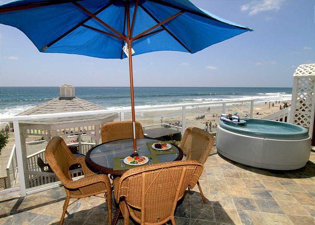2br, 2ba Beach Front Vacation Rental in Carlsbad, CA - Image 1 - Carlsbad - rentals