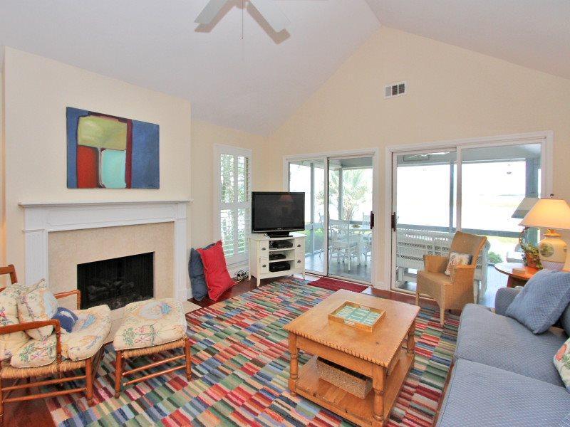 Living Room at 50 Lands End Road - 50 Lands End Road - Sea Pines - rentals