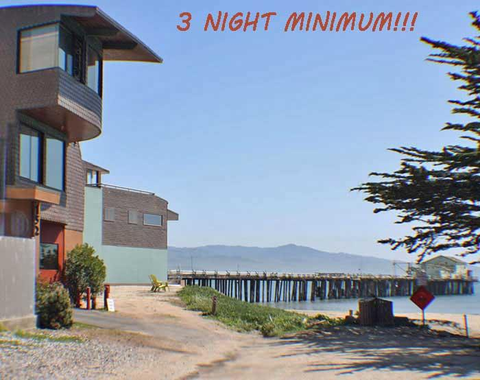 Suite Entrance on West Point Beach - TROPICAL GARDEN SUITE on the BEACH at MAVERICKS! - Half Moon Bay - rentals