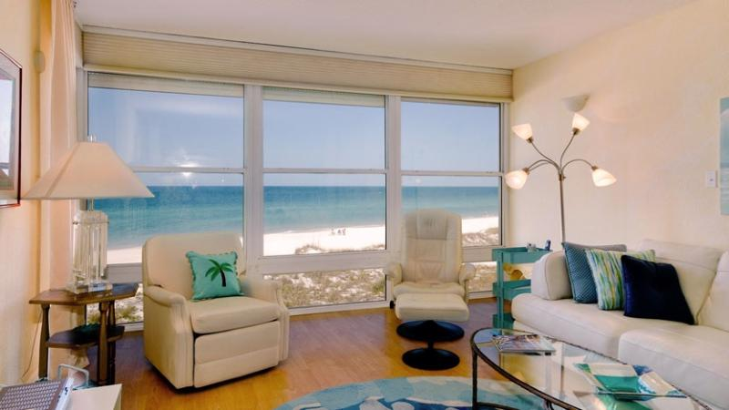 What a View! - Gulf View: 2BR Beachfront Condo with Amazing View - Holmes Beach - rentals