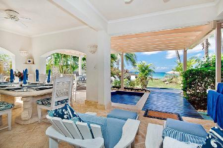 Reeds House no1 - Luxury condo with direct access to white sandy beach & 2 spa pools - Image 1 - Reeds Bay - rentals