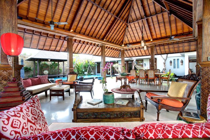 Living Area - Des Indes 2  a 5 Bedroom Luxury Villa in Seminyak - Seminyak - rentals