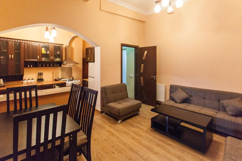 Living Room - Sweet Home at Sulfur Baths, Old Tbilisi - Tbilisi - rentals