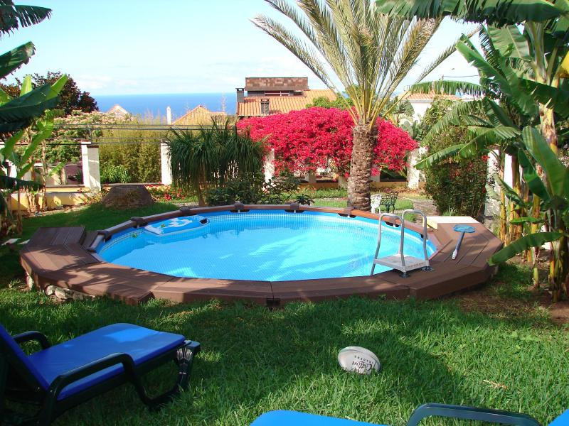 Private pool for Rose apartment - PRIVATE POOL for two, WIFI, Air Cond, walk to Func - Funchal - rentals