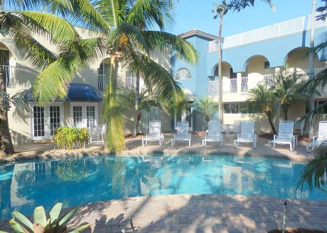 Blue Ocean I Beachfront, Pool View 2 Bedroom 2 Bath for 7 guests Heated Pool - Image 1 - Pompano Beach - rentals