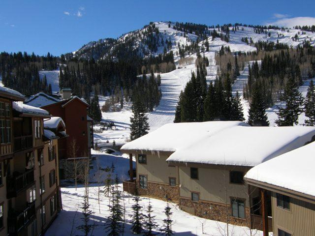View From Deck...Amazing Sunny Location on top of Slopes! - Eagle Springs West  #403 - Solitude - rentals
