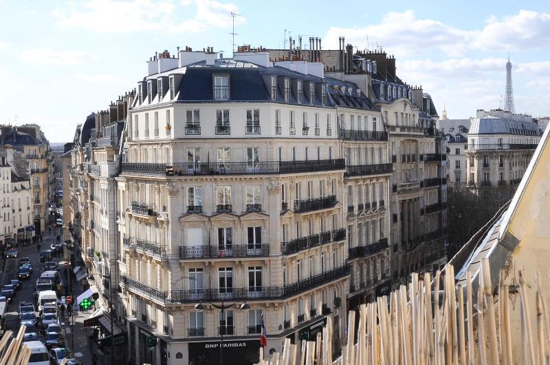 6th Floor Balcony View from Paris Studio - Image 1 - Paris - rentals