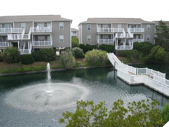 Starboard by the Sea view from deck - Starboard By the Sea 258-4A-Gorman - Ocean Isle Beach - rentals