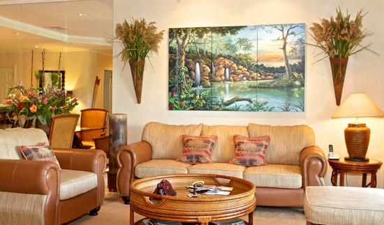 living room - Los Suenos Resort Del Mar 4O - Herradura - rentals