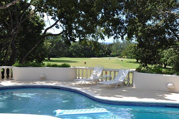 This property, on a corner lot on the upper ridge of Sandy Lane Estate, sits directly above the golf course and has views of the Caribbean. RL CAS - Image 1 - Barbados - rentals