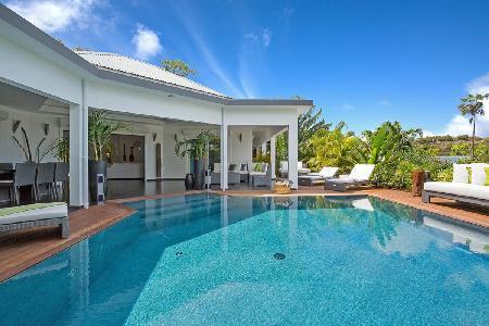 Modern villa Carmen, hillside with gourmet kitchen, heated pool & daily maid - Image 1 - Vitet - rentals