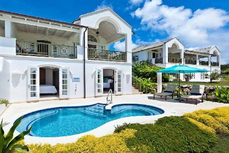 Gated Cherry Red wth shuttle service to Mullins Beach & Royal Westmoreland Beach Club access - Image 1 - Lascelles Hill - rentals