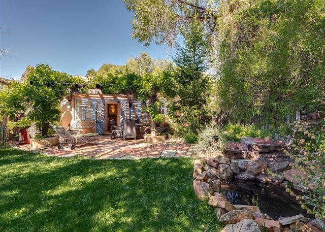 Outdoor Living! - Casa Oasis - Luxury historic adobe in one of Santa Fe's prime locations! - Santa Fe - rentals