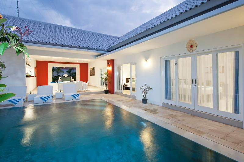 Looking at Living Area & Rooms. - Bali 1 Bedroom Villa - Berawa Beach! - Kerobokan - rentals