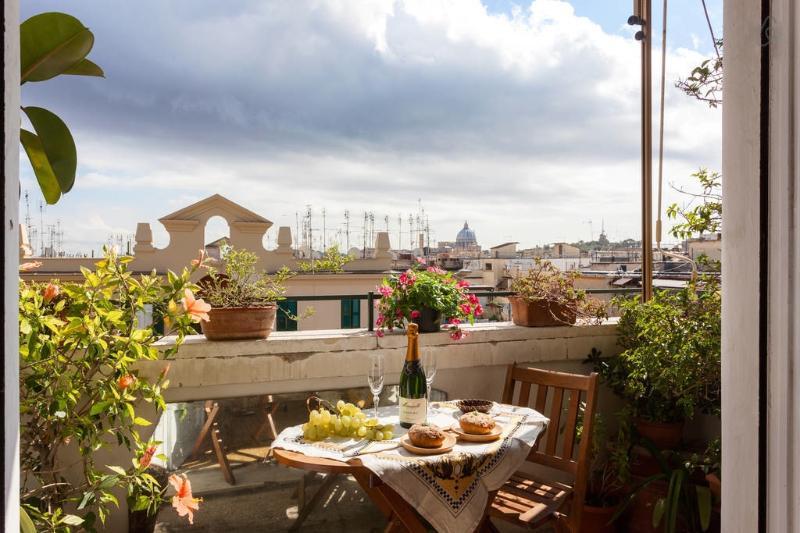 aperritif à l'air - Bright & Panoramic Penthouse near Vatican St.Peter - Rome - rentals