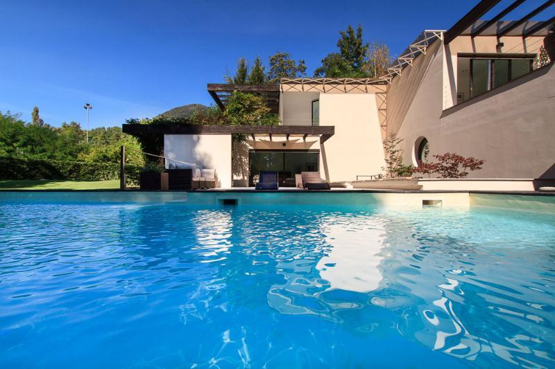 Modern vacation villa with private pool Verbania Lake Maggiore Italy - Modern style villa with private pool - Verbania - rentals
