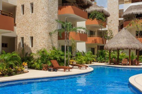Real Zama Condo Iguana - common areas - Tulum Vacation rentals - Real Zama Condo Iguana - Playa del Carmen - rentals