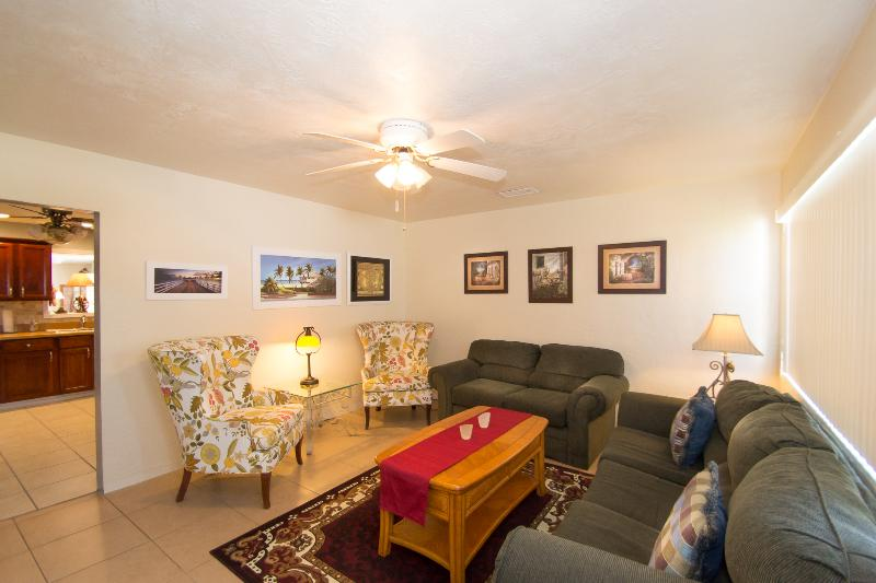 Cozy Sitting Room for much needed relaxation. - April/May Home $pecial - Vacation Home #384 - Daytona Beach - rentals