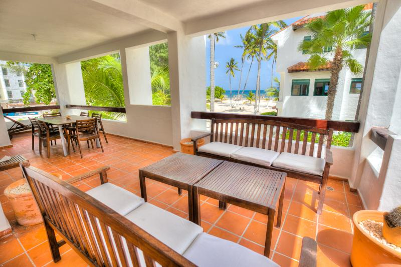 Stanza Mare 3 Bedroom Oceanfront Apartment L201 - Image 1 - Punta Cana - rentals