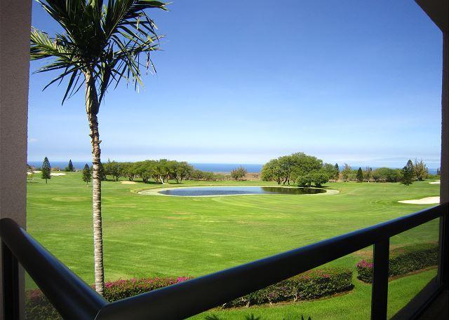 Beautiful golf course and ocean views! - Waikoloa Fairways A208-WF A208 - Kohala Coast - rentals
