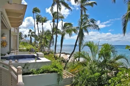 Reeds House no10 - Lovely condo overlooking verdant gardens with plunge pool & direct beach access - Image 1 - Reeds Bay - rentals