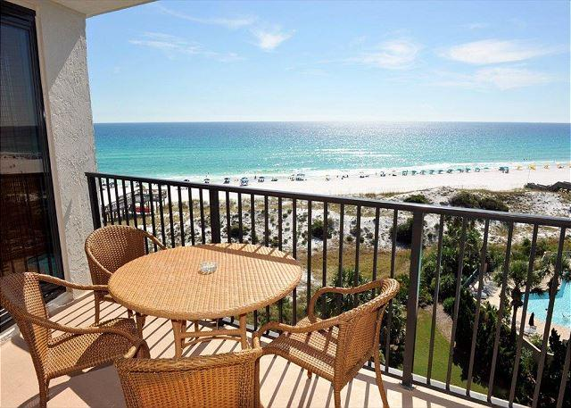 Wake up to Paradise! - August 1-8 still open!. 7th floor gulf front! Free Shuttle Included - Sandestin - rentals