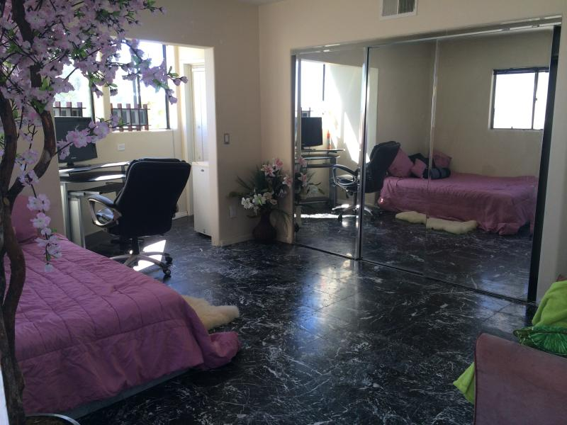 Private entrance,Pr CHEF,laundry,CITY LIGHTS VIEW! - Image 1 - Calabasas - rentals