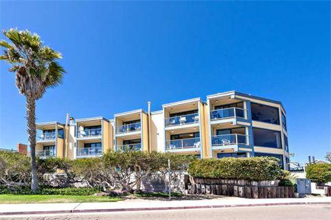 outside of building2 - 2595 Oceanfront Walk #6 - San Diego - rentals