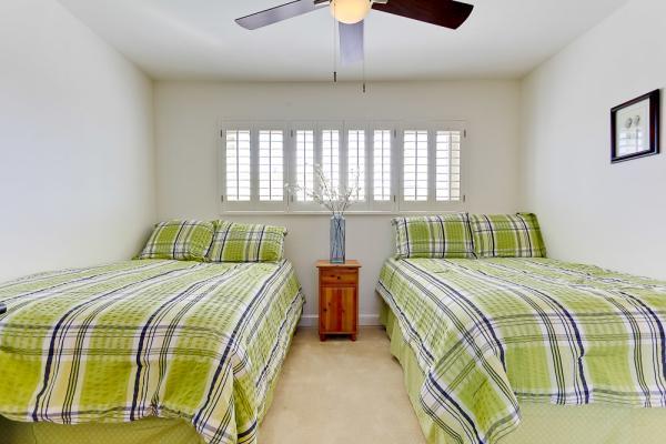 2nd bedroom full beds - 3696 Bayside Walk #C - San Diego - rentals