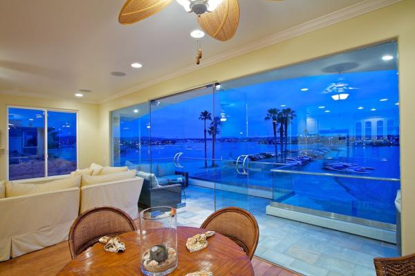 dining area with bay view - 3490 Bayside Walk #B - San Diego - rentals