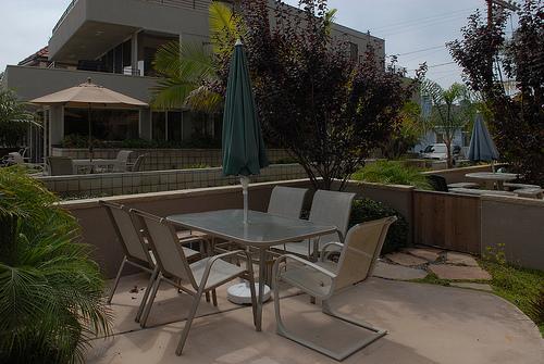 outside patio - 3648 Bayside Walk - San Diego - rentals
