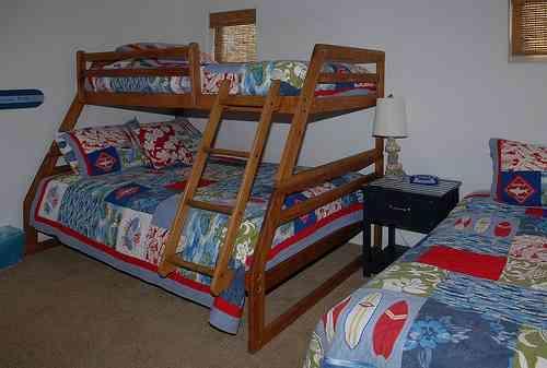 3rd bedroom bunks - 3650 Bayside Walk - San Diego - rentals