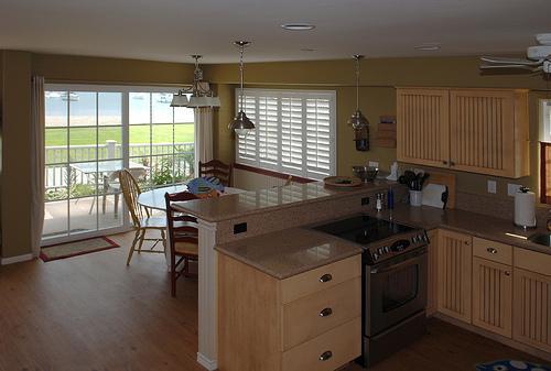 kitchen dining room view - 3656 Bayside Walk #A - San Diego - rentals