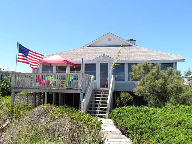 "1602 Palmetto Blvd - ""The Original Sea Oats"" - Image 1 - Edisto Beach - rentals"