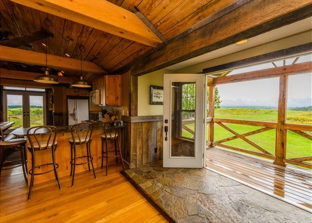 Majestic Mountain Views, 600 Acres with private stocked pond! One of a KIND! - Image 1 - Farmington - rentals