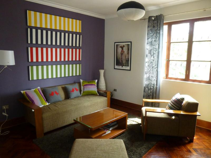 Bright 3 bedroom apt. in trendy Miraflores. - Image 1 - Lima - rentals